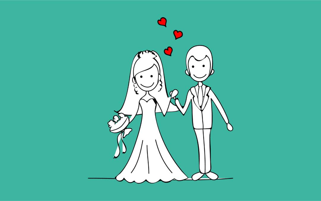 Rétro-planning de mariage : les dates clé
